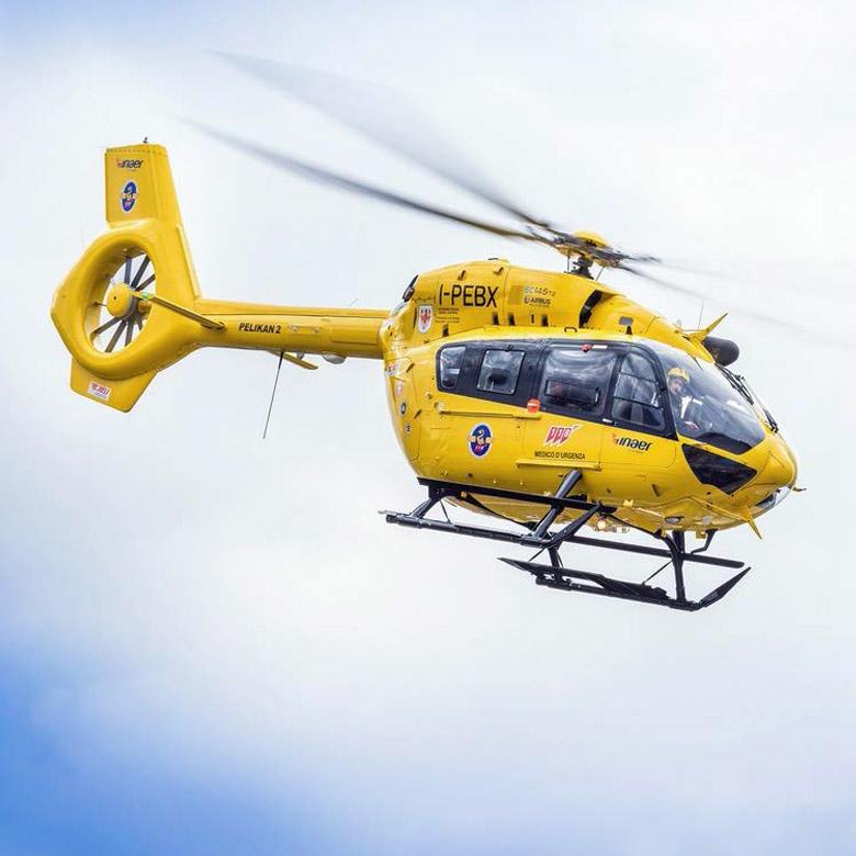 Pelikan 1 Elicottero : Elisoccorso